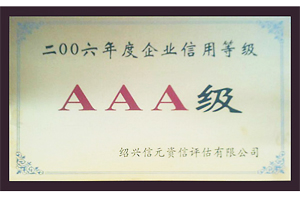 Yinghua AAA Grade Credit Enterprise