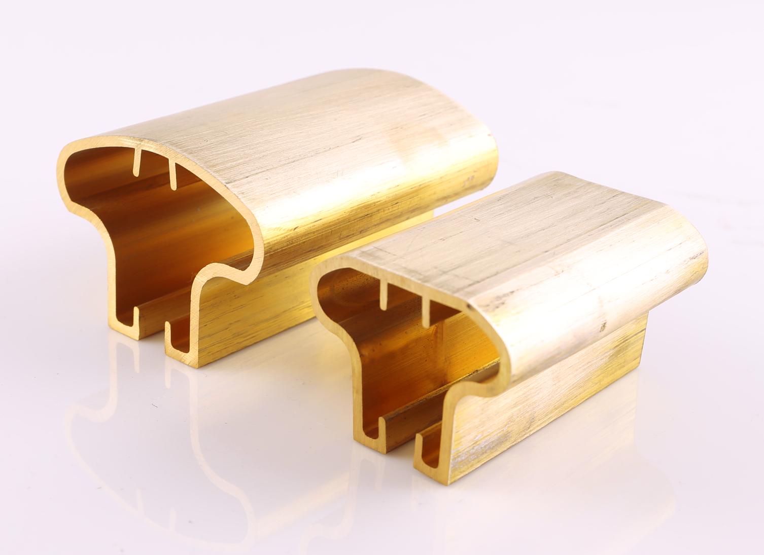 C38500 Brass Handrail Profile