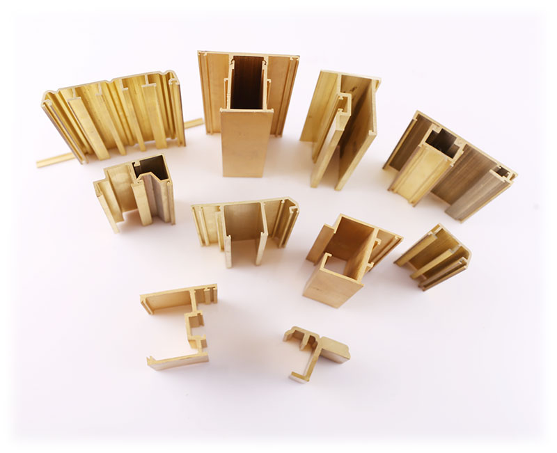 As per Drawing Brass Extrusion of Building Mterial