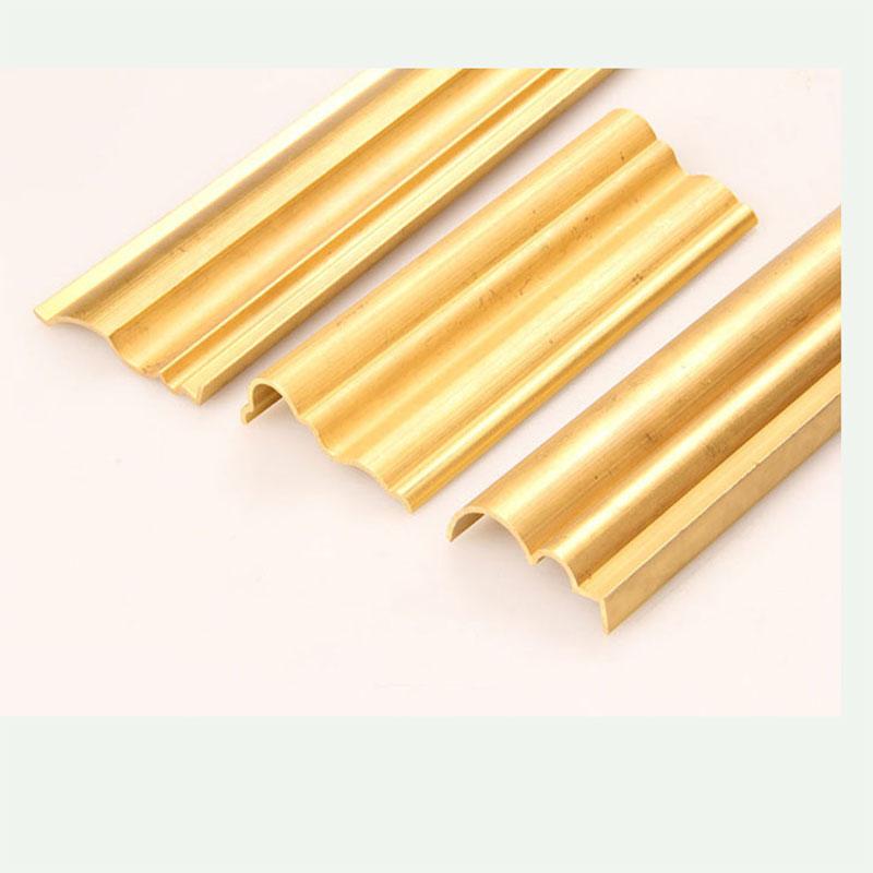 Brass decorative strips