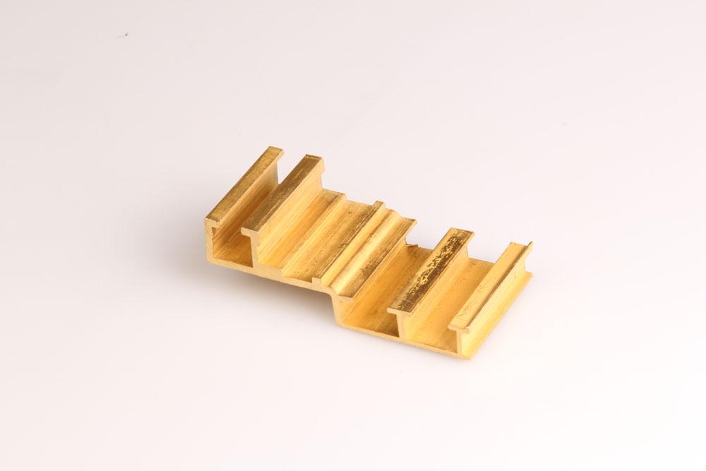 Brass door extrusion
