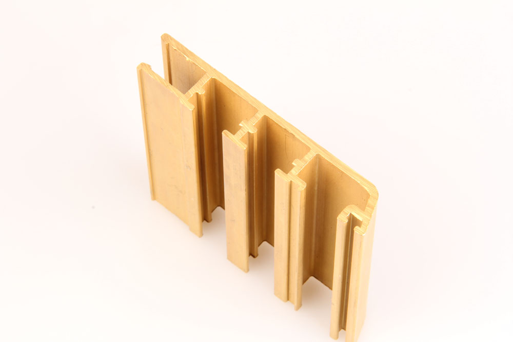 Brass Building material profile
