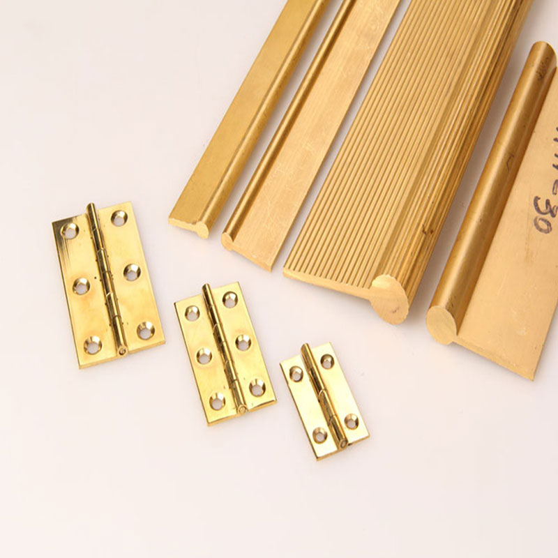 Customized Brass hinges profile