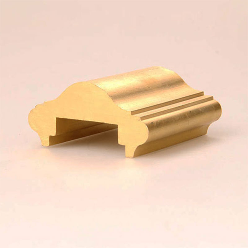 Copper armrest profiles